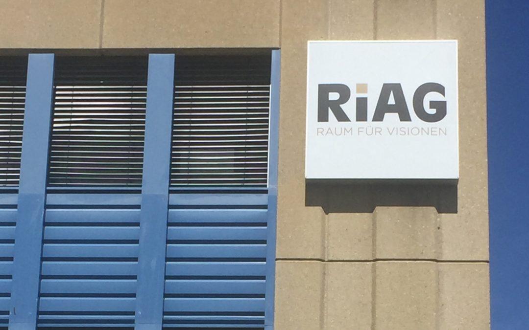 Wo RiAG draufsteht, ist auch RiAG drin