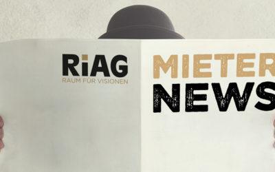 RiAG Mieternews im Oktober