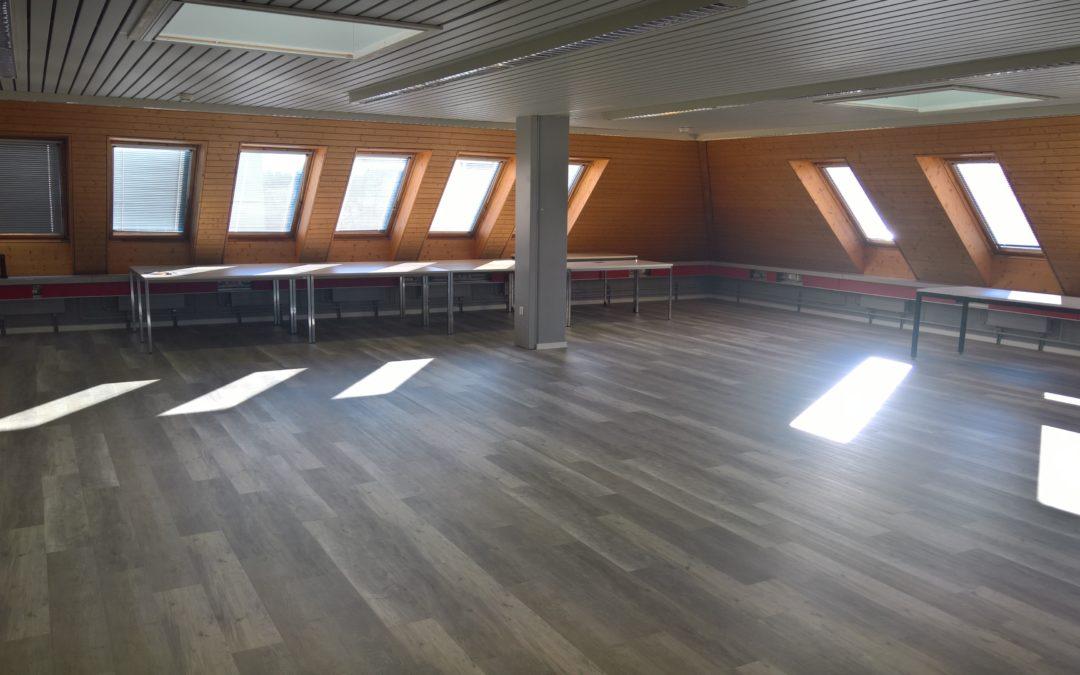 Der RiAG Konferenzraum strahlt in neuem Glanz.