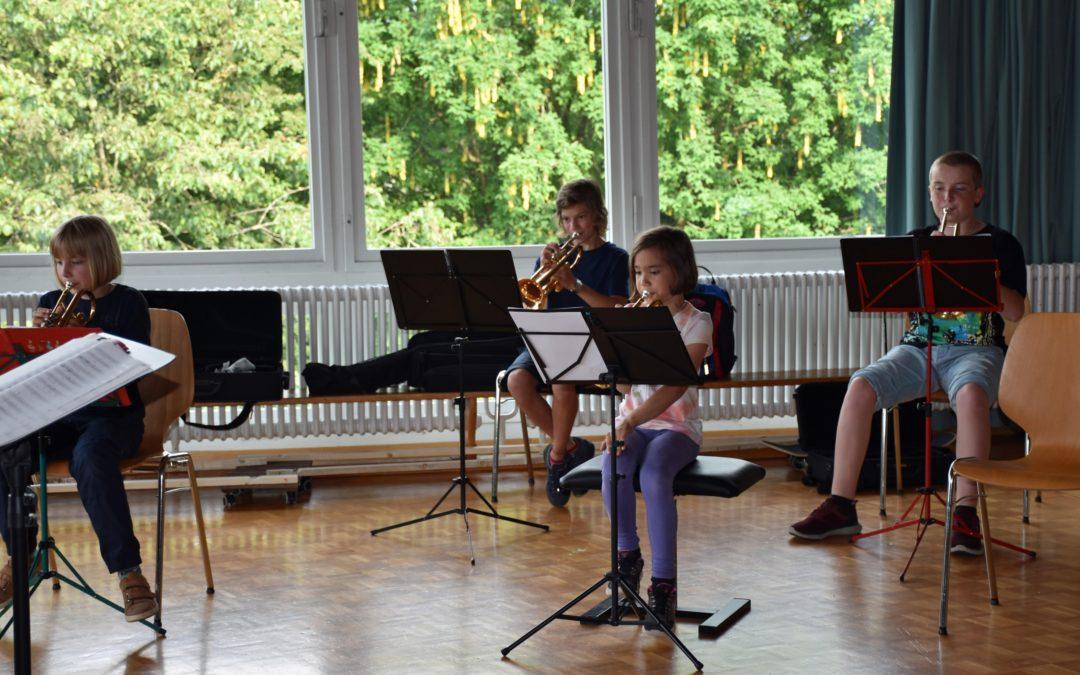 RiAG engagiert sich für die Förderung der Jugendblasmusik Wetzikon